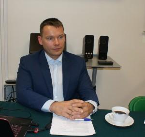 Prowadzący spotkanie Lech Fronczek